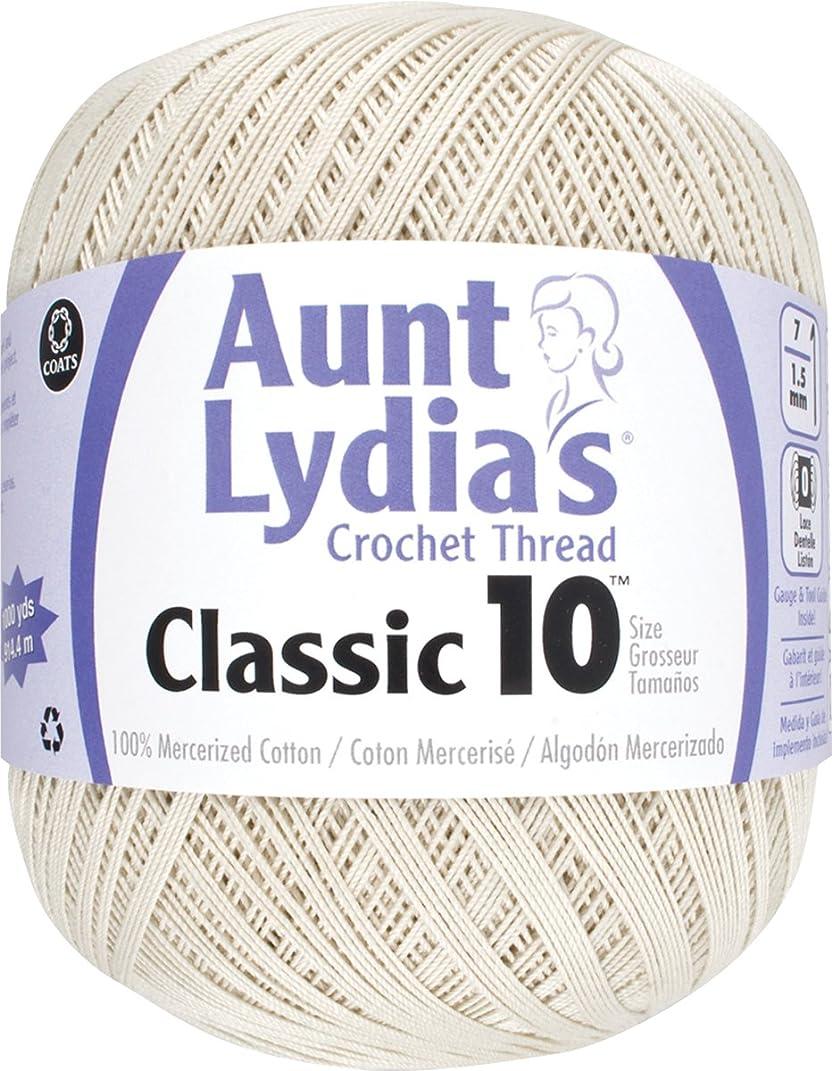 Aunt Lydia Value Crochet Cotton, Natural