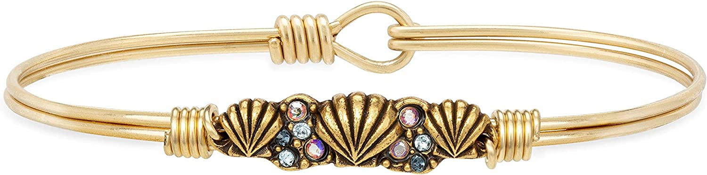 Luca + Danni   Shell Medley Bangle Bracelet For Women Made in USA