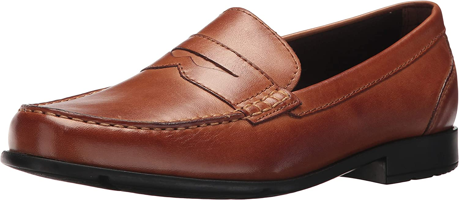 Rockport Mens Barnaby Lane Penny Brown 1 11.5 M (D)