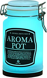 AromaAllure Aromatherapy Essential Oil Diffuser 2 Different Modes & 7 Colors Rotating Lights - AC & USB Powered - for Professional Spa & Home Use Idea
