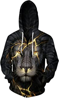 3d printed hoodies lion
