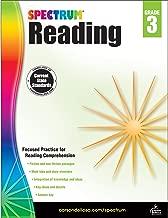 Spectrum Paperback Reading Workbook, Grade 3, Ages 8-9