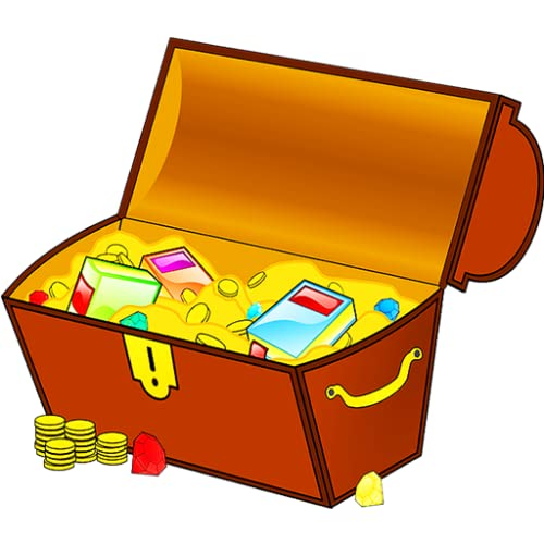 Caixa mágica do tesouro