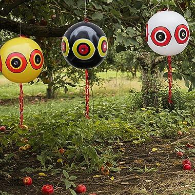 "MorTime 3PCS Balloon Bird Repellent, 24"" Terror Eye to Scare Birds in Garden Outdoors, Keep Ducks Away from Swimming Pool"