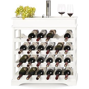 Vetrinetta da Parete Vintage Industriale in Ferro e Vetro per Vino Loft Loft 100x35x27cm Wine Rack Clothes UK