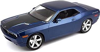 Maisto, color azul, Dodge Challenger Concept (M36138) , color/modelo surtido