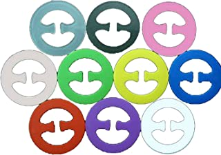10 pieces x Cleavage Control Magic Bra Clips (in 10 Different Colours)