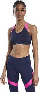 Reebok Women's Wor Bra - Padded Sleeveless Sports Bra