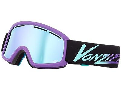 VonZipper Trike Goggle (Neo Miami Haze Satin/Stellar Chrome Lens) Goggles