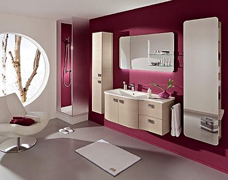 Pelipal Contea 3 Tlg Bathroom Furniture Set Vanity Counter Function Mirror Amazon De Home Kitchen