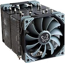 Scythe Ninja 5 120mm Air CPU Cooler, Tower Heatsink with 6 Heatpipes, Dual Quiet PWM Fans, Intel 1151, AMD AM4/Ryzen
