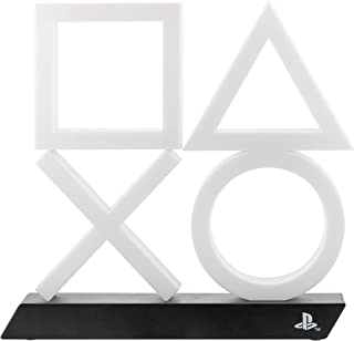 Paladone Playstation 5 Icons Light PS5 XL - Offiziell lizenzierte Ware, PP7917PS, Weiß/Schwarz