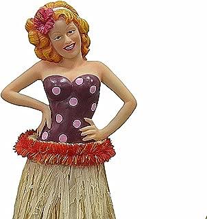 Hawaiian 40's Retro Vintage-Styled Hula Pin Up Girl Car Dashboard Doll Style May Vary