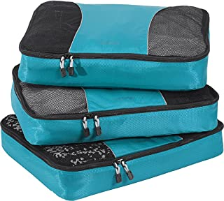 eBags Large Classic Packing Cubes for Travel - 3pc Set