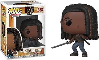 Michonne: Funko Pop! TV Vinyl Figure & 1 Compatible Graphic Protector Bundle (888 - 43536 - B)