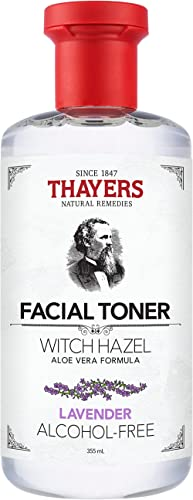 THAYERS Alcohol-Free Lavender Witch Hazel Facial Toner with Aloe Vera Formula, 355ml, 1 count