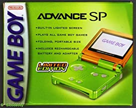 Game Boy Advance SP Limited Edition Lime/Orange (Renewed)