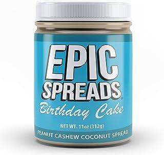 Epic Spreads Nut Butter (Birthday Cake Peanut Cashew Coconut)