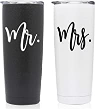 Mr & Mrs Stainless Steel Bride Tumbler Gift | Christmas Holiday Gift | Wife, Engagement, Bachelorette, Bride To Be, Newly Engaged, Bridal Shower, Mother Gift