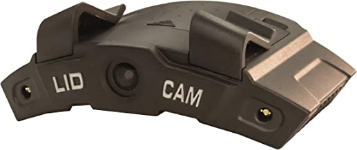 LiDCAM Plus LC-WF-BZ Hands Free Hat Mounted Digital Action Camera, 1080P HD Wi-Fi with Full Audio and 1X to 4X Zoom