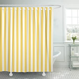 Best yellow and white striped fabric Reviews