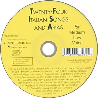 24 Italian Songs & Arias- CD