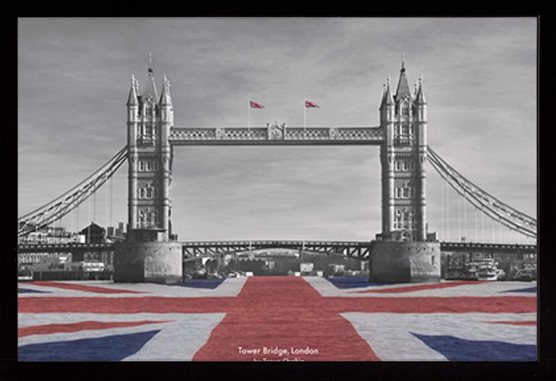 Frame USA low-pricing Tanya Chalkin - Tower London Poster Black Affo Product Bridge