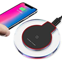 Ectreme 2019 Updated Qi Wireless Charger Pad Compatible with iPhone Xs MAX XR X 8 8 Plus 7 7 Plus 6s 6s Plus 6 6 Plus and More TXB32019
