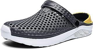 XPERSISTENCE Clogs for Women Men Garden Nursing Clogs Shoes Slip on Lightweight Breathable