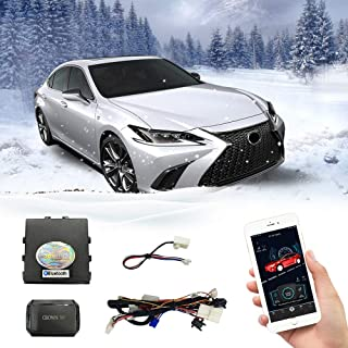 Plug in Cars Remote Starter for Toyota`s [Camry 2018], [Avalon 2019], for Lexus [ES200/ ES260 2018] Use Original Key to Pre-Warm Pre-Cool Cars