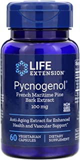 Life Extension - Pycnogenol French Maritime Pine Bark Extract 100mg 60 Vegetarian Capsules