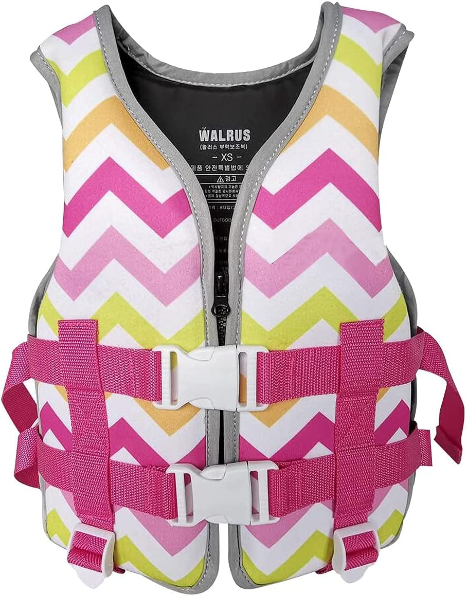 DLRBDMM Fashionable Kids Swim Vest for Youth Swimming Safety Boys 2021 new Girls