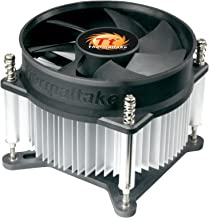 Thermaltake 7-bladed 92mm 4-Pins PWM Aluminum Extrusion CPU Cooling Fan for Intel Core i7/i5/i3 CLP0556-B