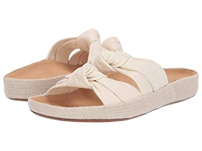 Soludos Knotted Summer Slide (Ivory) Women