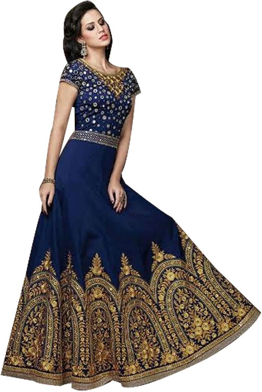 Bollywood Gown Anarkali Shalwar Kameez Suit Wedding Ethnic Dress Sexy bra
