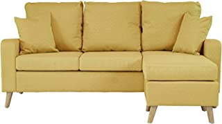 Best yellow chaise sofa Reviews