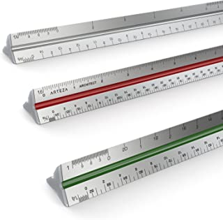 pocket scale ruler