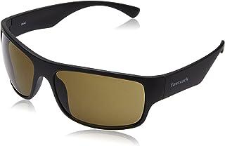 Fastrack UV Protected Wayfarer Unisex Sunglasses - (P192BR2|62.1|Brown)