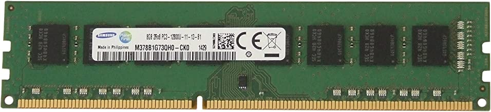 Samsung Original 8GB, 240-pin DIMM, DDR3 PC3-12800,...