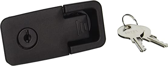 Southco 62-42-251-2 Black Powder Coated Lift and Turn Compression Latch, Adjustable Grip