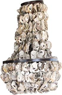 Creative Co-op Oyster Shell Chandelier