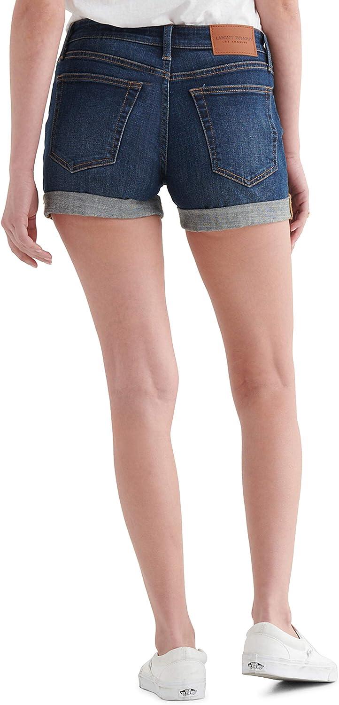 Lucky Brand Women's Mid Rise Ava Roll Up Short