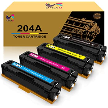 Yellow, 1-Pack GREENCYCLE 900 Pages per Toner Cartridge Replacement Compatible for HP 204A CF512A Used in Color Laserjet Pro M154 M154a M154nw MFP M180nw MFP M180n MFP M181 Printer