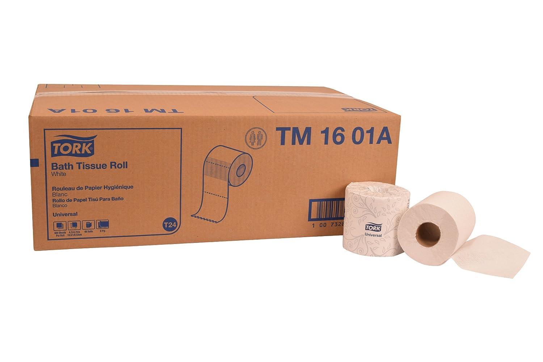 Tork Max 49% OFF TM1601A Universal Bath Tissue Roll 2-Ply x 156 4.2