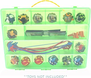 Life Made Better Cases, Toy Storage Carrying Boxes Compatible with Power Rippers, Fits Figures & Accessories