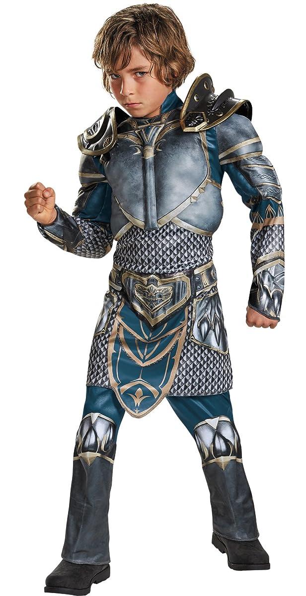 UHC Lothar Warcraft Boy's Muscle Jumpsuit Torso Arms Halloween Costume