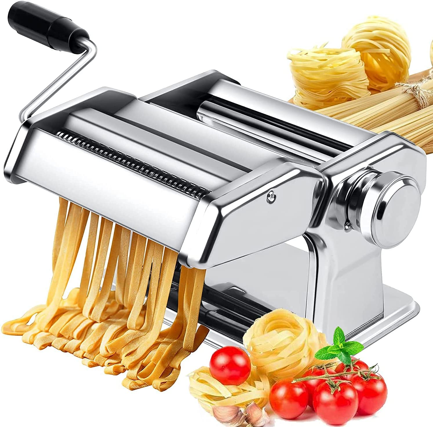 Free Shipping Cheap Max 82% OFF Bargain Gift Pasta Maker 150 Roller Noodle with 9 Adjust Machine