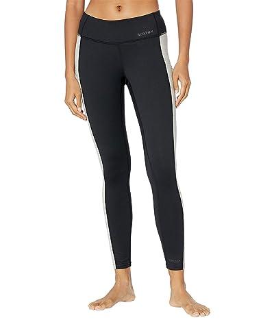 Burton Midweight X Base Layer Pants (True Black/Gray Heather) Women