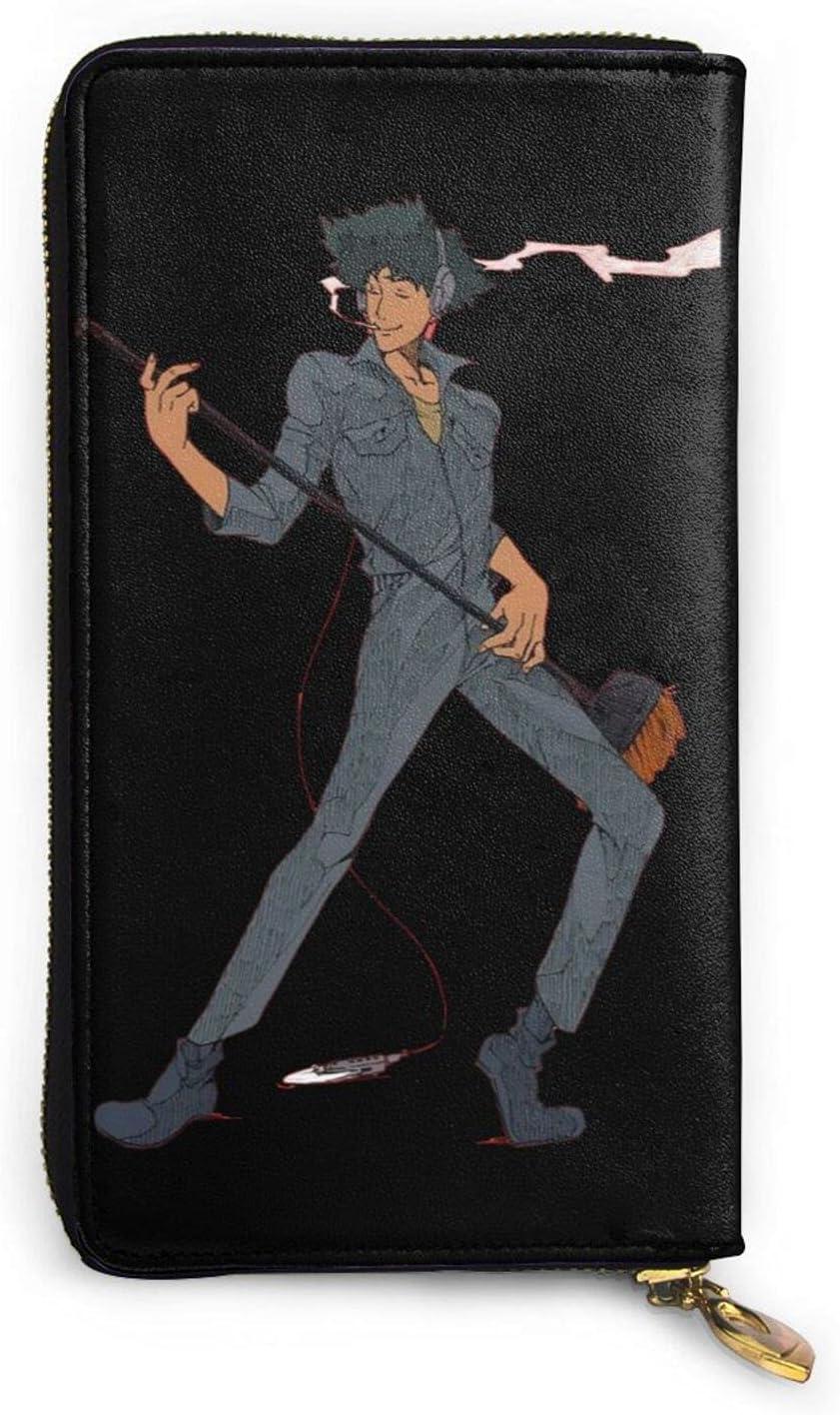Cowboy Bebop Spike Spiegel Under blast sales Anime Online limited product Wallet Men Leather Cartoon Wome