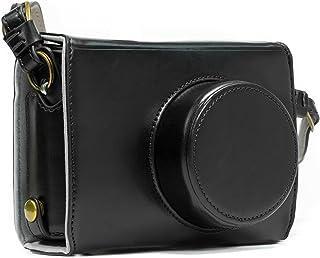 MegaGear「Ever Ready」Fujifilmレザーカメラケース–簡単にインストール、三脚と互換性と周辺機器Friendlyアクセサリ–Fujifilm x100s ブラック